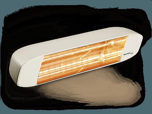 stufa ad infrarossi per esterni color bianco carrara heliosa 11 di star progetti