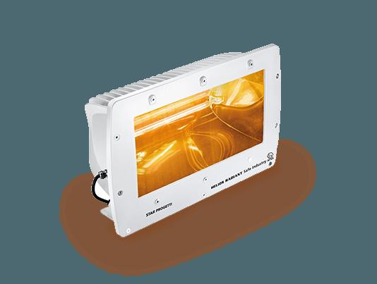 lampada a infrarossi con indice di protezione ip66 per il riscaldamento dei ponti delle navi di star progetti