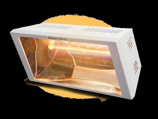 riscaldatore elettrico industriale ad alta potenza per capannoni e postazioni di lavoro helios radiant titan di star progetti