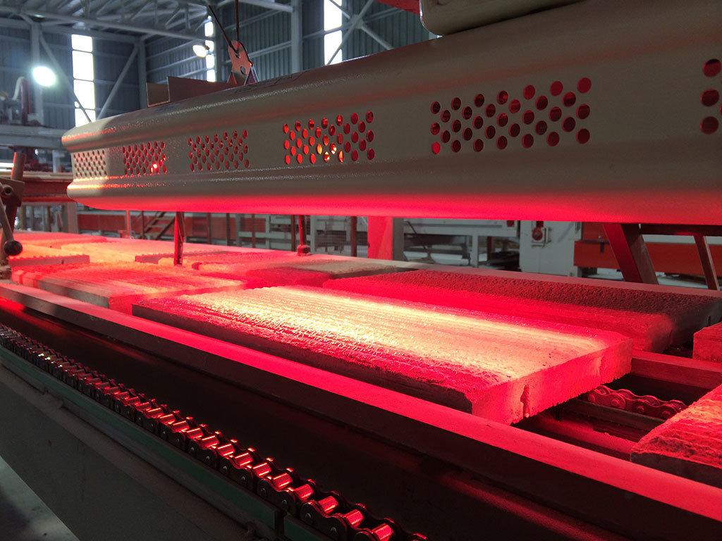 lampade a infrarossi di star progetti vengono usate per l'essiccazione delle vernici nei processi industriali