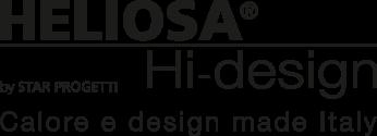 Heliosa Hi-Design è la linea di design di lampade riscaldanti a raggi infrarossi dedicata al settore horeca per il riscaldamento di gazebo e dehors