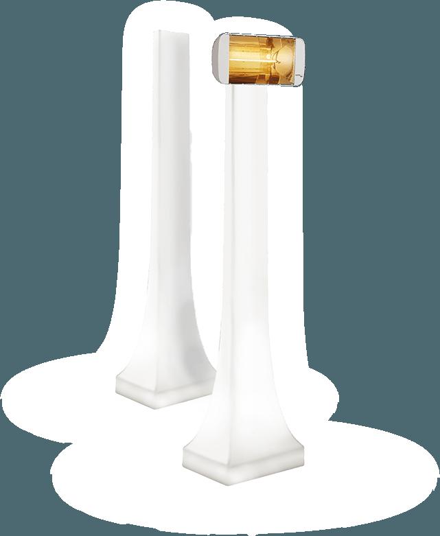 sistema di illuminazione e riscaldamento per dehors obelisk di star progetti